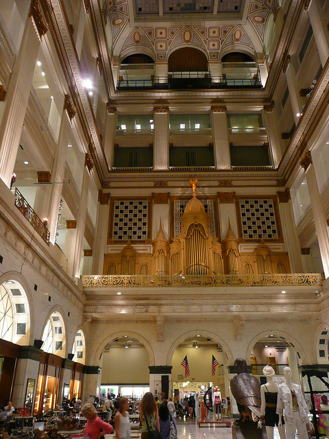 Philadelphia, PA John Wanamaker Department Store (now Macy's) ~ atrium