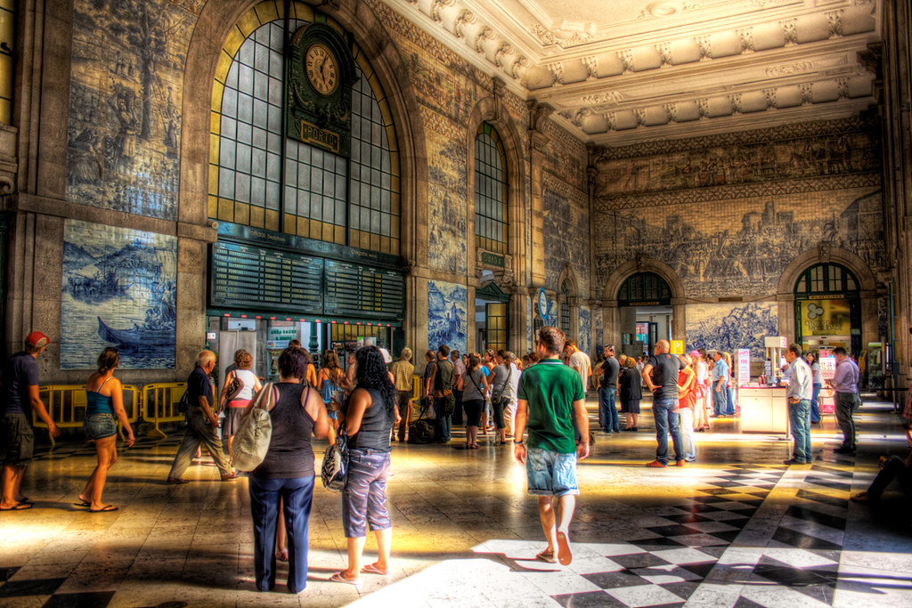 HDR - Train Station Hall