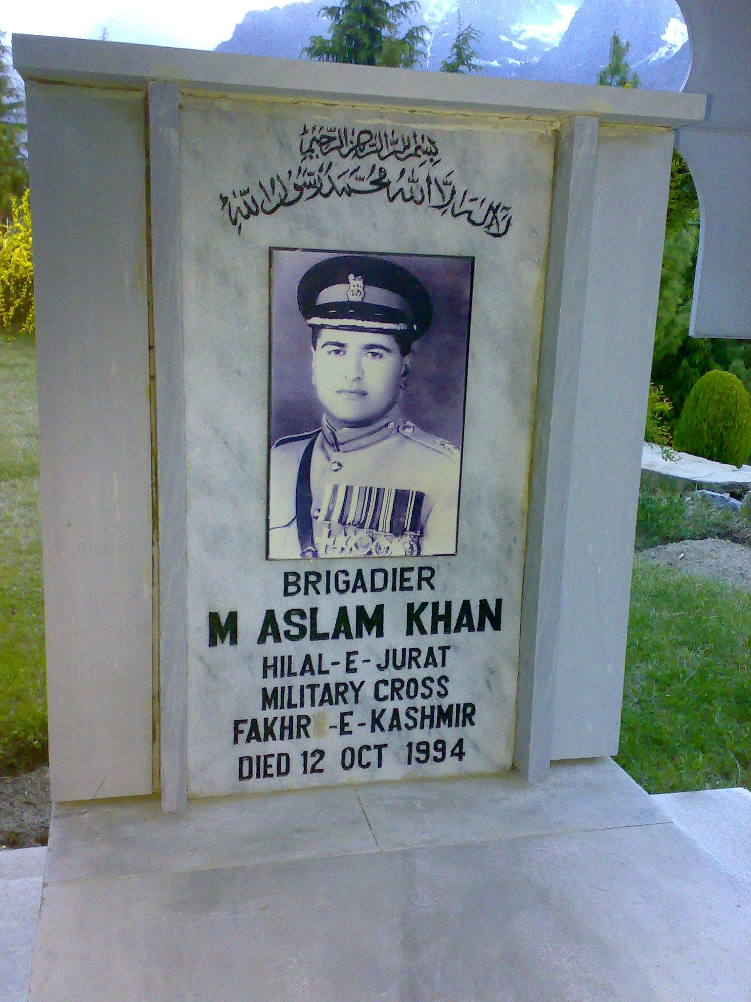 Brigadier M Aslam Khan – Founder of Shangrila Resort