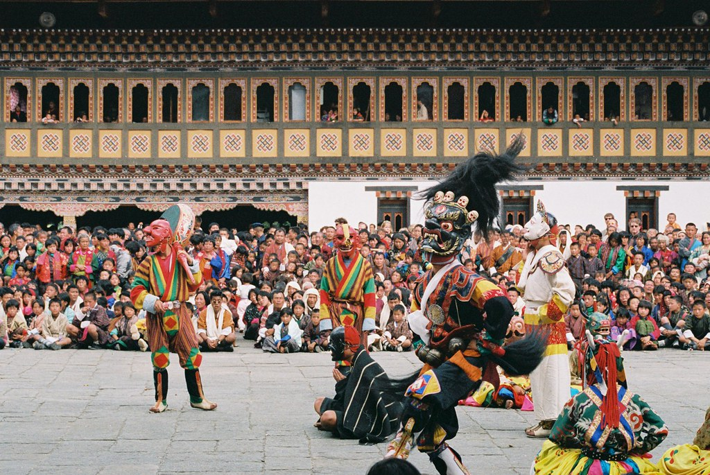 Thimpu Festival in Bhutan