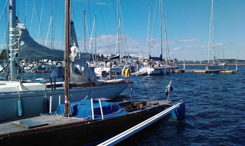 Nynashamn small boat harbor