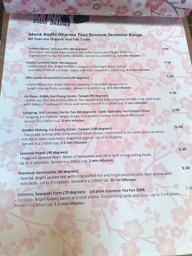 tea menu - it's srs business! | by snarkattack
