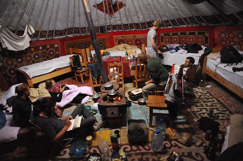 Mongolian Ger   by goingslowly