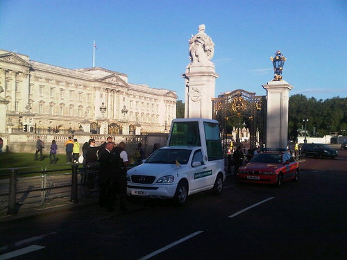 Pope at Buckingham palace