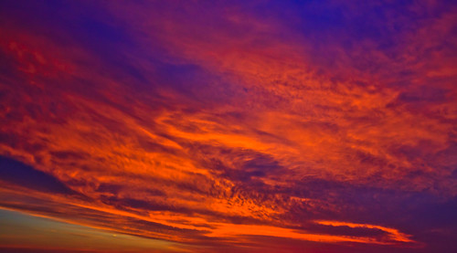 blue red sky abstract yellow clouds sunrise alabama orangebeach perdidobay paintingwithlightandshadows 091710