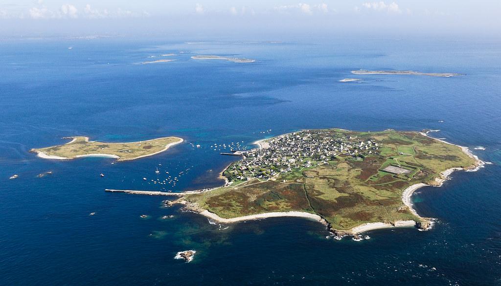 Vue de l'île de Molène