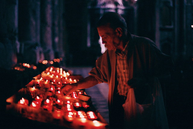 Old man candles