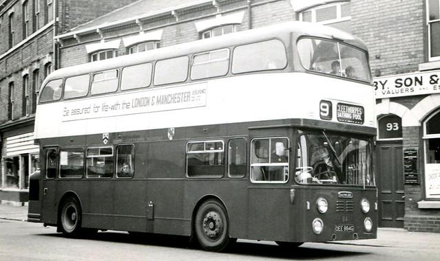 84, OEE 884G, Daimler Fleetline, Roe Body