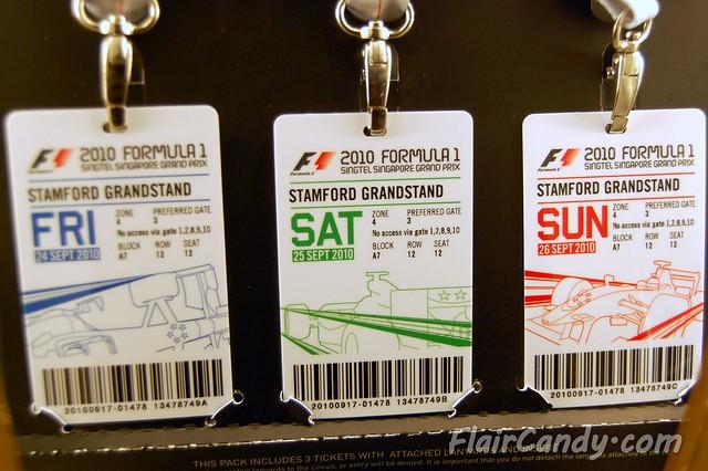 F1 Singapore GP 2010 Day 1 - Friday Practice