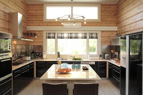 Maison bois contemporaine interieur Honka | Découvrez l\'inté ...