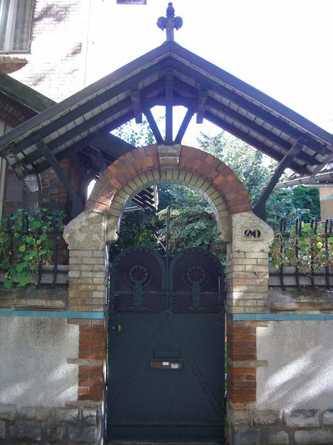 Villa Jassédé, 41 rue Chardon-Lagache, Paris XVIe – Architecte Hector Guimard, 1893