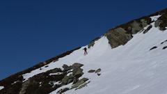 Pod hranicí 2000 metrů už se lyže bořily všude a byl to boj…