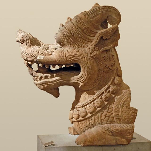 Dragon Makara (Art Cham, Musée Guimet)