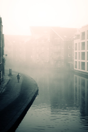 Fog over London's Grand Union Canal | by lilivanili