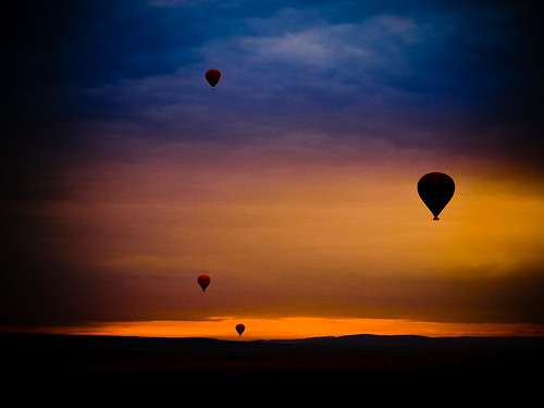 Dawn over the Masai Mara | by The-E
