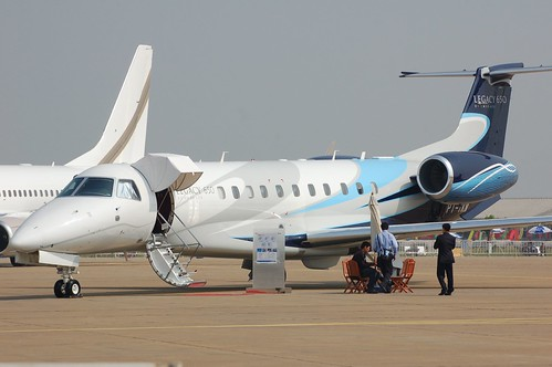 Embraer Legacy 650 PT-TKN | by Jon Ostrower