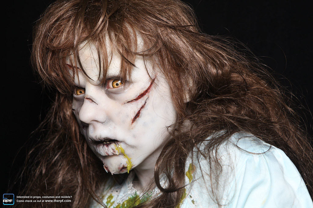 Regan MacNeil from The Exorcist   Monsterpalooza is a massiv…   Flickr