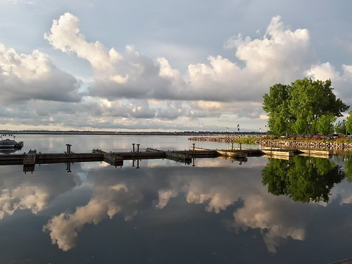 waterfront clouds sunrise smartphone ygk kingston serene