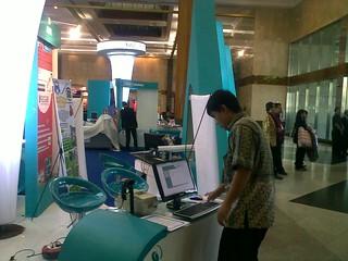 AhadPOS - shown on PPKI Expo June 2010 @ JCC, Jakarta   by hsufehmi