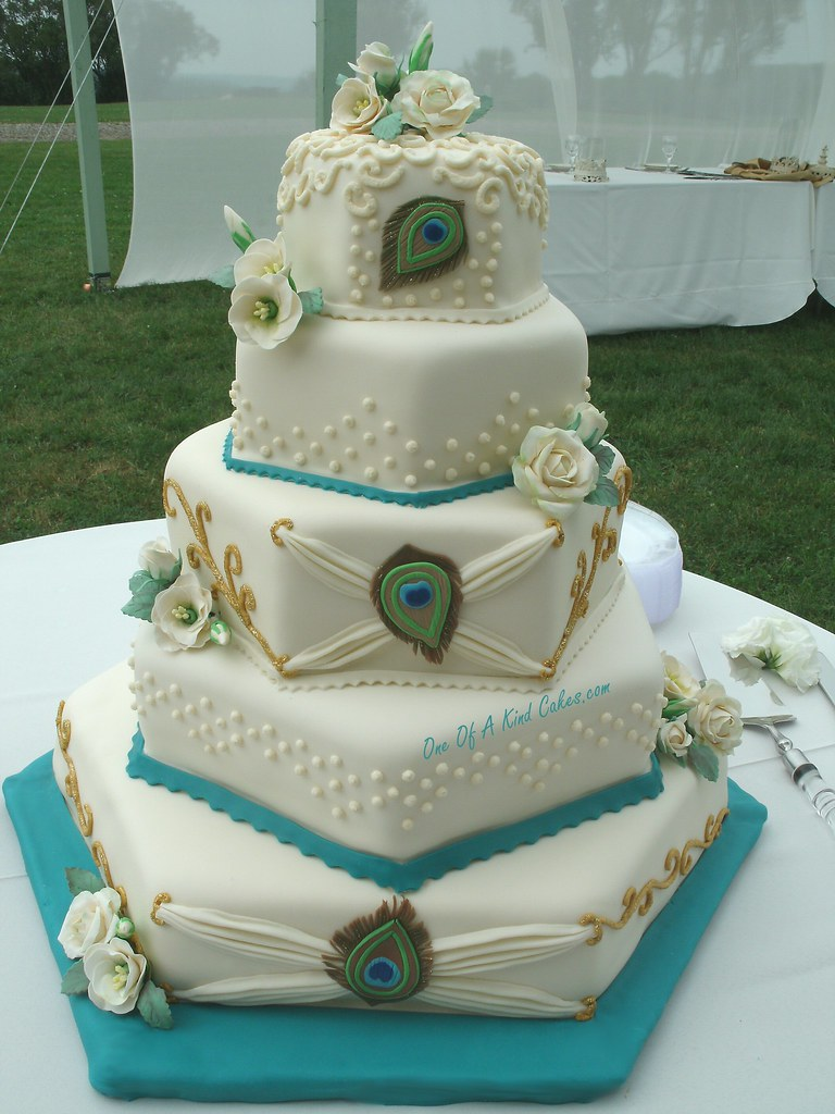 Peacock Wedding Cake.Peacock Wedding Cake Check Out The Other Photos For Some C