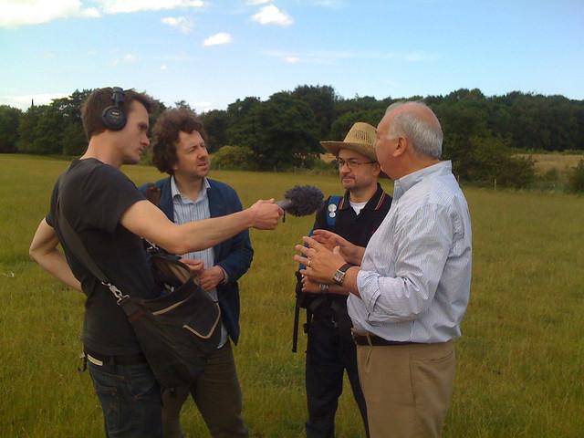 Steve Punt interviews Mister Roy for Punt PI