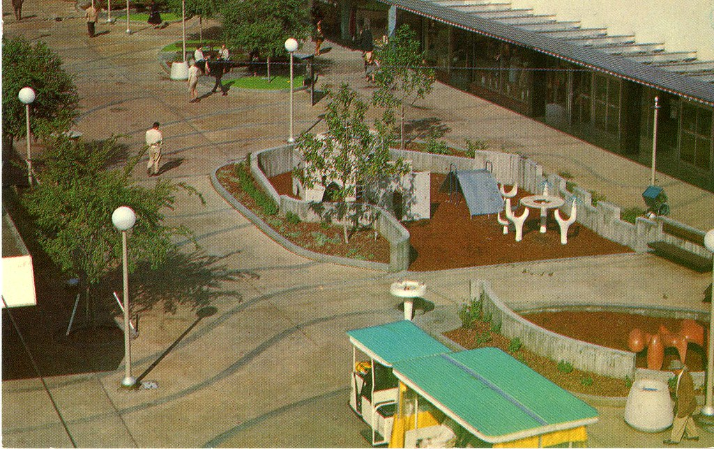 Fulton Downtown Pedestrian Mall Fresno CA