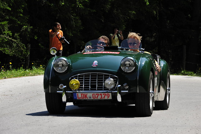 CAUTION► All kinds of publication and commercial usage are prohibited & illegal ! ◄ Triumph TR 3 1957 Findt :: eu-moto clasic sports cars © Egger 2512