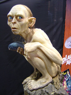 Comic-Con 2004 - life-sized Gollum statue | by Doug Kline