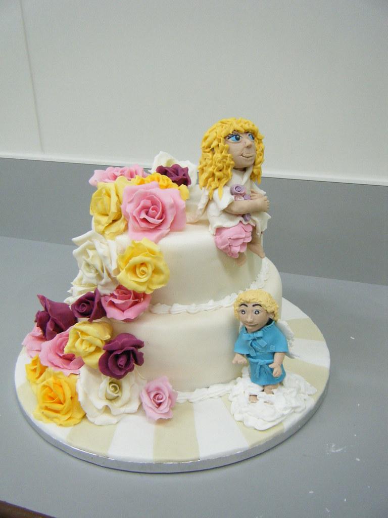 Prime 70Th Birthday Cake Angels Chocolate Fudge Cake With Rasp Flickr Birthday Cards Printable Nowaargucafe Filternl