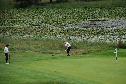 Kungsmarken Hickory Open, Lund - 16:e green