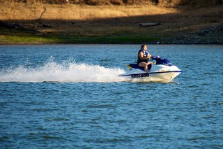 Jet skiing on Calero Reservoir | by donjd2