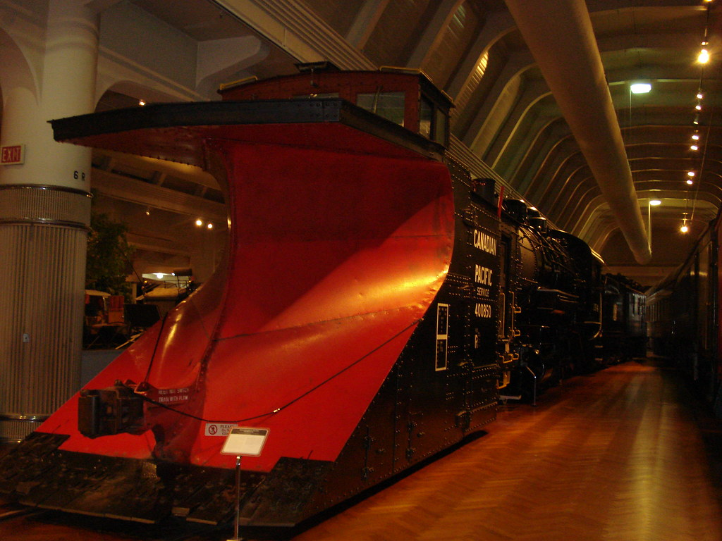 snow plow train car Henry Ford Museum Dearborn Michigan | Flickr