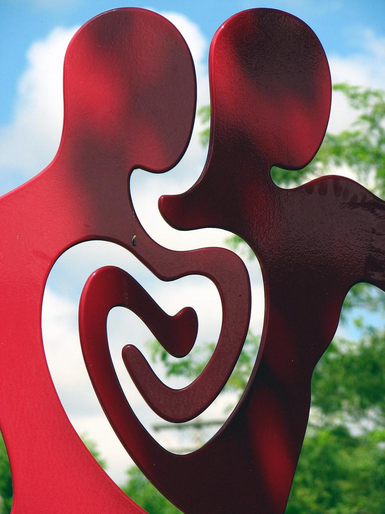 Heart Art In Puyallup  Washington