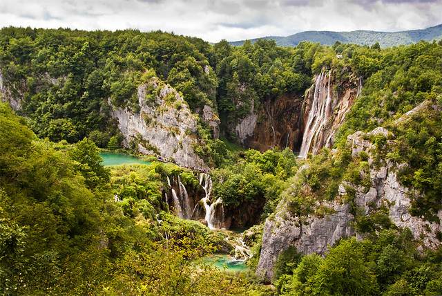 Lagos y cascadas de Plitvice