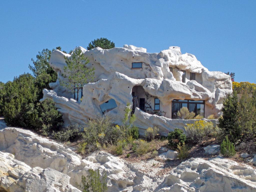 Image result for flintstone house