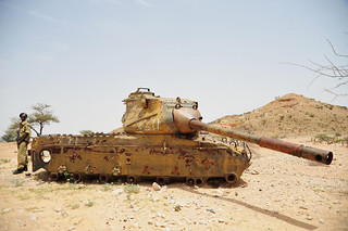 7a. A Russian tank left over from the civil war in the late 80s between Hargeisa and Berbera | by Breaking the Cycle