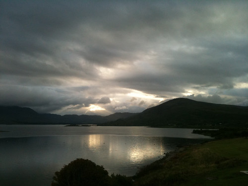 lake sunrise kerry waterville iphone