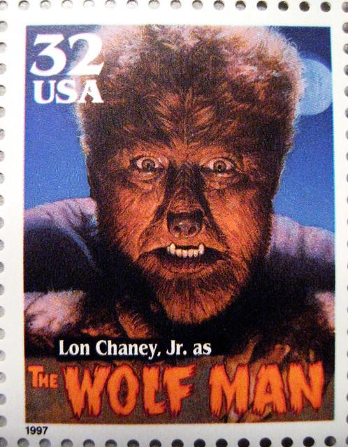 Wolf Man Stamp 2611