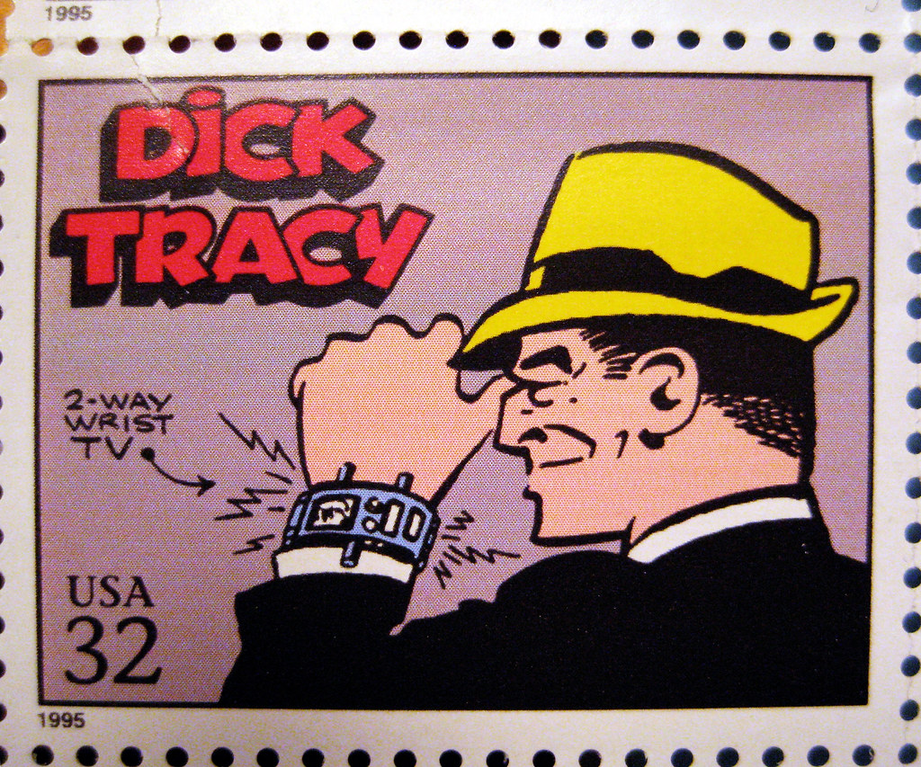 Dick Tracy Detective Stamp 2466