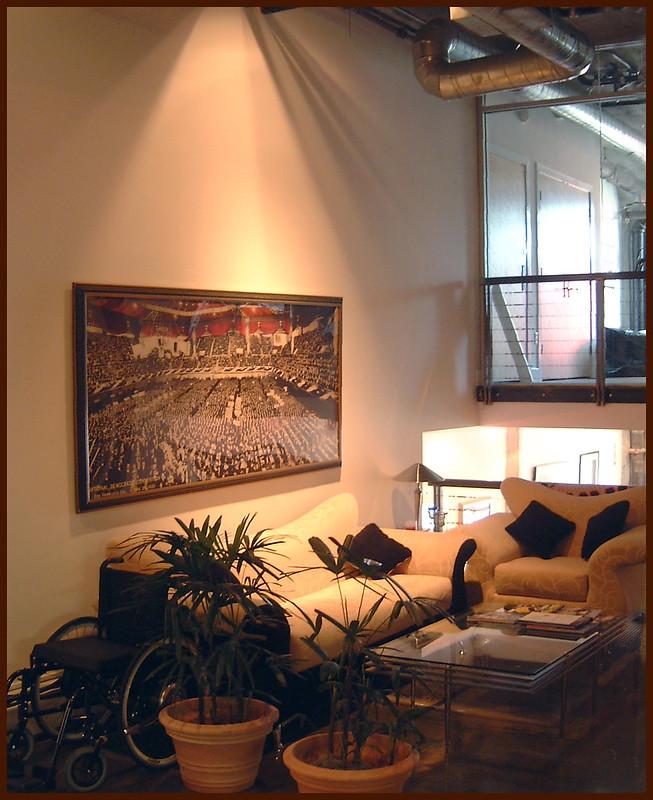 Titan Partners, loft lounge area