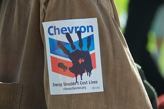 Make Big Oil Pay march to Chevron, EPA & BP 73