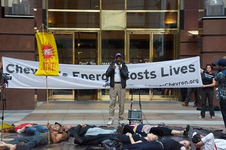 Make Big Oil Pay march to Chevron, EPA & BP 173