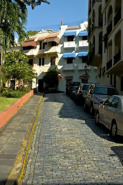 Cobbled Streets of Old San Juan