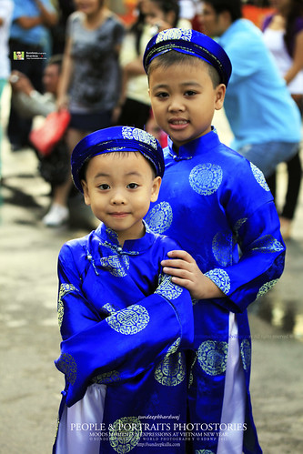 BROTHERS IN TYPICAL VIETNAMESE DRESS CULTURE & PLACES VIETNAM HCMC FEB CHINESE NEW YEAR 2011 PHOTSTORIES 2011 _6772 AWF   by SDB Fine Art Travel of 2 Decades to 555+ Places Ph