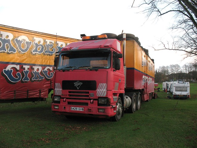 Bobby Roberts Foden G429 GVG