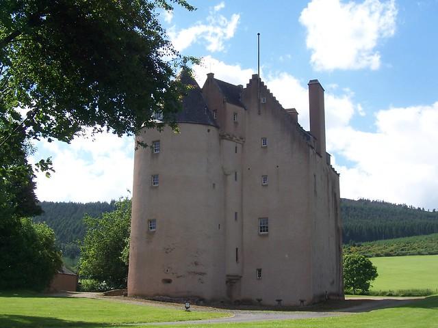 Pitfichie Castle, Monymusk, Aberdeenshire, July 2010