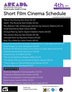 ARKADE Cinema schedule | by julian marshall sykes findings