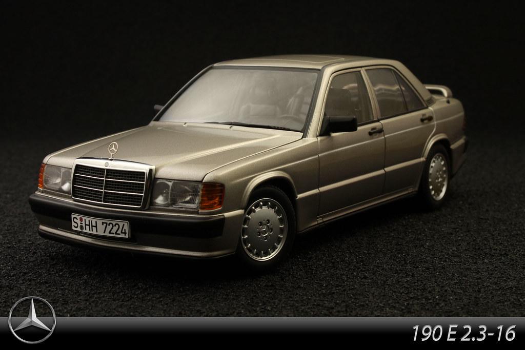 Mercedes-Benz 190E 2.3-16 | 1:18 model by AutoArt. So my