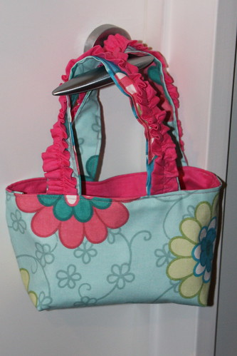 Back - pink ruffle handbag | by unplain-Jane