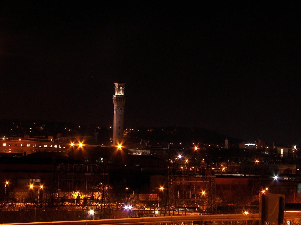 100_5513 Waterbury CT skyline | Waterbury Republican America… | Flickr